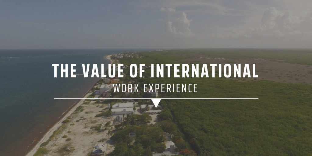 The value of international work experience