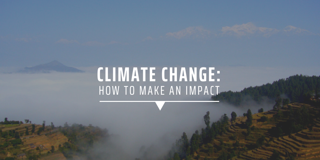 Climate change: How to make in impact